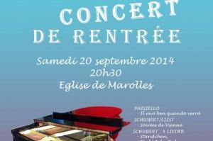 Read more about the article Concert de rentrée