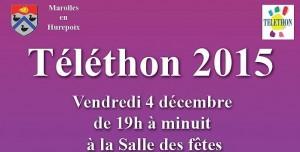 Read more about the article Téléthon 2015