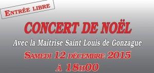 Read more about the article Concert de Noël 2015