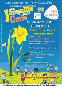 Read more about the article Une jonquille pour Curie