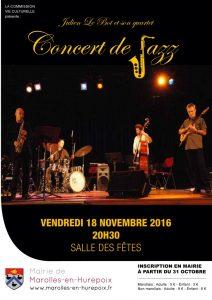 Concert de jazz 2016