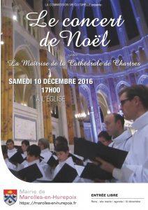 Read more about the article Concert de Noël 2016