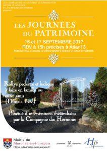Read more about the article Les Journées du Patrimoine 2017