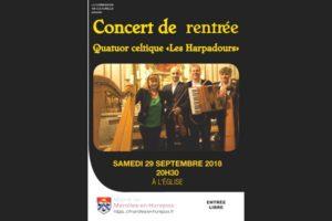 Read more about the article Le Concert de Rentrée 2018