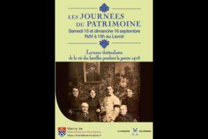 Read more about the article Les Journées du Patrimoine 2018